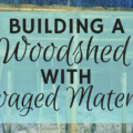 Building a woodshed feature